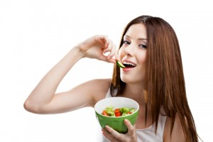 © Agencyby | Dreamstime.com - Woman Eating Healthy Salad Photo